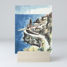 Amalfi Coast Italy Mini Art Print