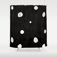 beetle Shower Curtains featuring Beetle by U I N V E R S O