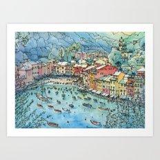 Portofino, Italy Art Print