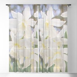 Kiss of Spring Sheer Curtain