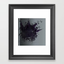 Pages of Emotional Breakdowns Framed Art Print