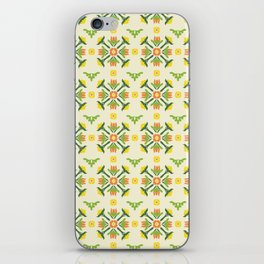The Lily Pattern iPhone Skin