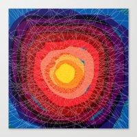 tie dye Canvas Prints featuring Tie-Dye by Raven Jumpo