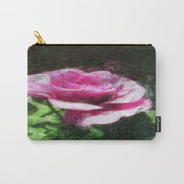 Rosas Moradas 2 Sketchy Carry-All Pouch