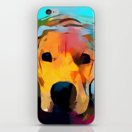 Golden Retriever 4 iPhone Skin