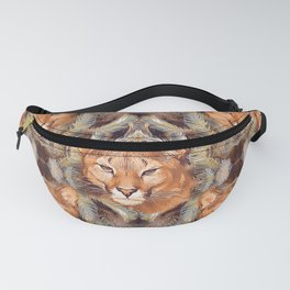 Cougars pattern Fanny Pack