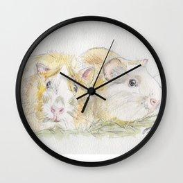 Obi & Oswald Wall Clock