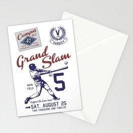Baseball Grand Slam Vintage Design. Stationery Cards