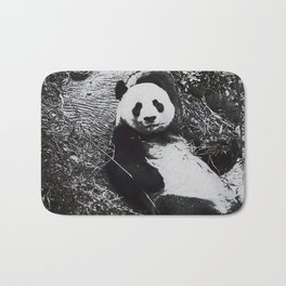 Urban Pop Art Panda Bath Mat