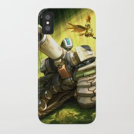 over bastion iPhone Case
