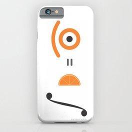 orange integral iPhone Case
