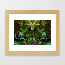 Savage Garden Framed Art Print