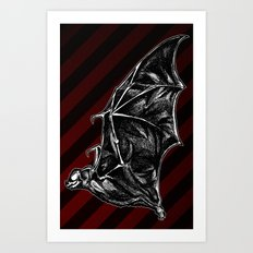 Leather Wings Art Print