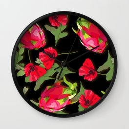 dragon fruit Wall Clock