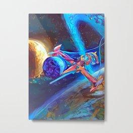 Swordfish - Cowboy Bebop Metal Print