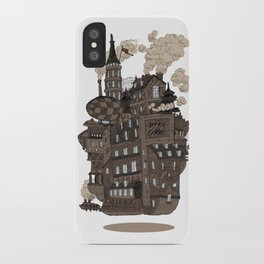 Flying city. iPhone Case