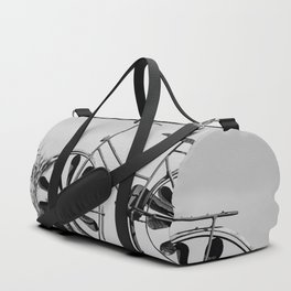 Day 1 of 7 Day B & W Challenge Duffle Bag