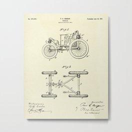 Vehicle-1901 Metal Print