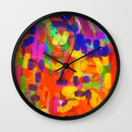 A Gust of September Wind Wall Clock
