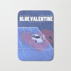 Blue Valentine Movie Poster Bath Mat