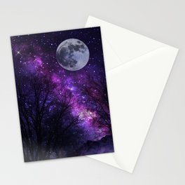 Mystic Moon Stationery Cards