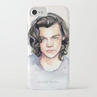coconutwishes iPhone & iPod Cases featuring Harry Watercolors II by Coconut Wishes