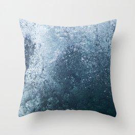 Atlantic Spray Throw Pillow