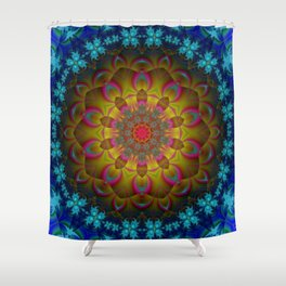 Deep Dark Relaxation Shower Curtain