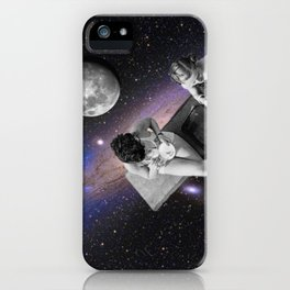 hangin in space iPhone Case
