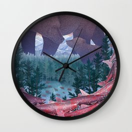 Katmai National Park Wall Clock