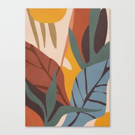 Abstract Art Jungle Canvas Print