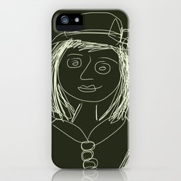 Lass iPhone Case