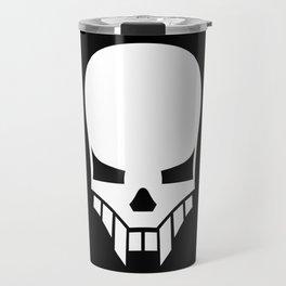 Sinister Skull Travel Mug
