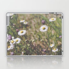 Matte Flowers Laptop & iPad Skin