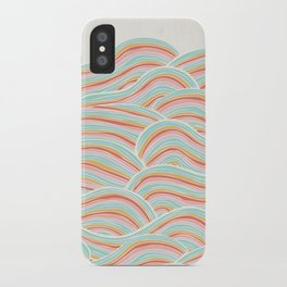 Summer Sea Waves iPhone Case
