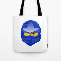 Ninjago face Jay  Tote Bag