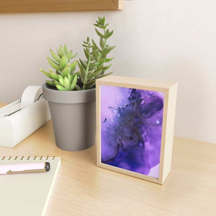 Sahasrara (crown chakra) Framed Mini Art Print
