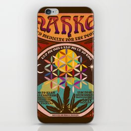 Nahko & Medicine for the People | Fan Made Poster iPhone Skin
