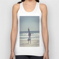 yoga Tank Tops featuring Yoga  by L_Q.