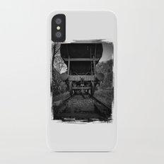 Old Railway Wagon Slim Case iPhone X