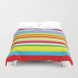 Colorful stripes Duvet Cover