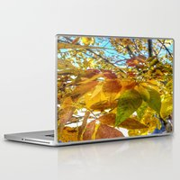 camus Laptop & iPad Skins featuring Autumn Leaves by Geni