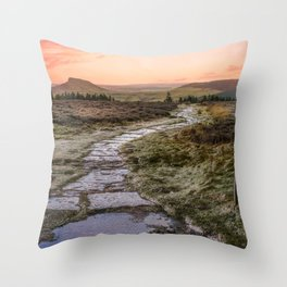 Icing Sugar Throw Pillow