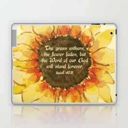 The Word of our God will stand forever Laptop & iPad Skin