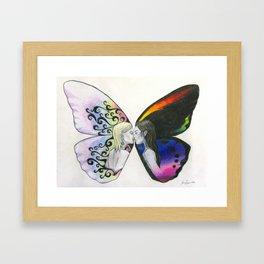 Rainbow Virgin  Framed Art Print