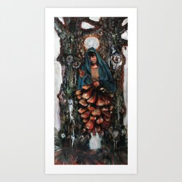 Apparition of the Virgin Mary Art Print