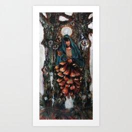 Apparition of the Virgin Mary Art Print