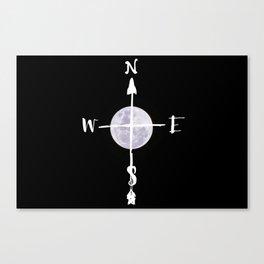 Lunar Direction Canvas Print