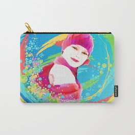 Creative Woman Carry-All Pouch