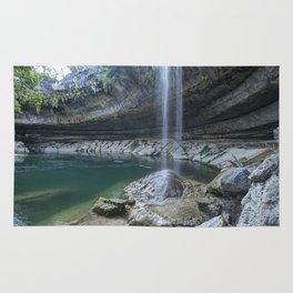 Waterfall in Austin, Texas Rug